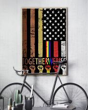 Juneteenth American Together We Rise 11x17 Poster lifestyle-poster-7