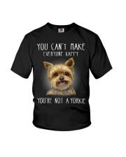 yorkie cute Youth T-Shirt thumbnail