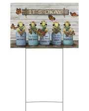 Turtle yardsign 18x12 Yard Sign front