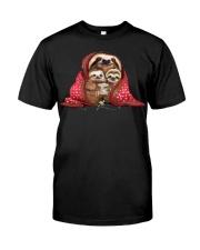 sloth nen den Classic T-Shirt front