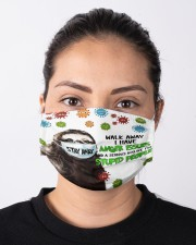 Sloth Stay Away Walk Away I Have Anger Issues Face Mask Best Friend Gifts Cloth face mask aos-face-mask-lifestyle-01