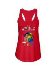 In A World Where You Can Be dachshund rain 7 color Ladies Flowy Tank thumbnail