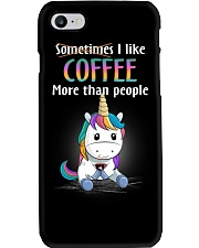 Unicorn coffee T-shirt best shirt for you Phone Case thumbnail