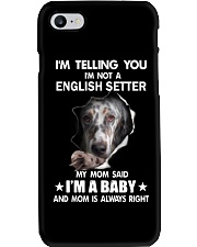 Im telling you im not a english setter edition Phone Case thumbnail