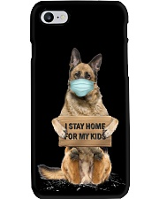 I Stay Home For My Kids German Shepherd Phone Case thumbnail
