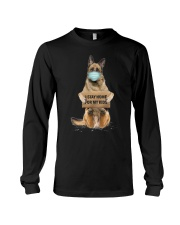 I Stay Home For My Kids German Shepherd Long Sleeve Tee thumbnail