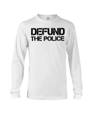 Defund Long Sleeve Tee thumbnail