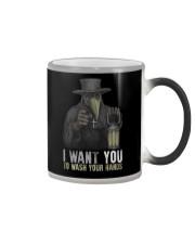 I Want You To Wash Yoru Hands Color Changing Mug thumbnail