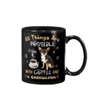 All Thing Are Impossible Chihuahua Tshirt Mug thumbnail