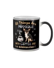 All Thing Are Impossible Chihuahua Tshirt Color Changing Mug thumbnail