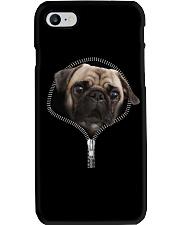 Pug zipper edition Phone Case thumbnail