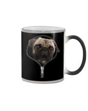 Pug zipper edition Color Changing Mug thumbnail