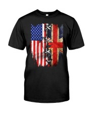 England flag Classic T-Shirt front