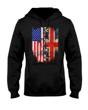England flag Hooded Sweatshirt thumbnail