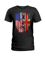 England flag Ladies T-Shirt thumbnail