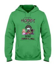 It'S Not A Hobby It'S A 2020 Survival dachshund Hooded Sweatshirt thumbnail