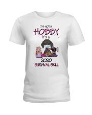 It'S Not A Hobby It'S A 2020 Survival dachshund Ladies T-Shirt thumbnail