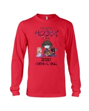It'S Not A Hobby It'S A 2020 Survival dachshund Long Sleeve Tee thumbnail