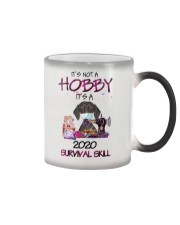 It'S Not A Hobby It'S A 2020 Survival dachshund Color Changing Mug thumbnail