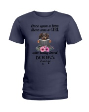 Once upon a tume there was a girl Dachshund2 Ladies T-Shirt thumbnail