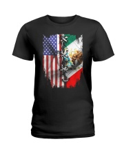 united flag Ladies T-Shirt thumbnail