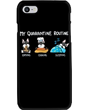 My Quarantine Routine schnauzer2 Phone Case thumbnail