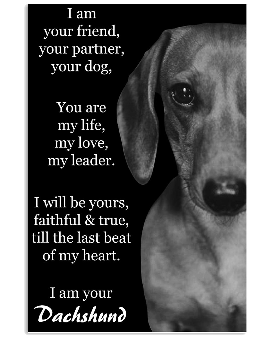 I AM YOUR DACHSHUND 11x17 Poster