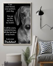 I AM YOUR DACHSHUND 11x17 Poster lifestyle-poster-1