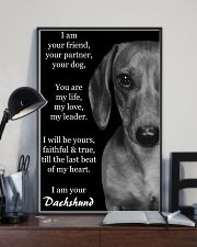 I AM YOUR DACHSHUND 11x17 Poster lifestyle-poster-2
