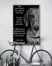 I AM YOUR DACHSHUND 11x17 Poster lifestyle-poster-7