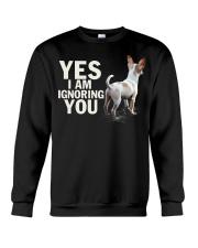 Yes i am ignoring you chihuahua IGNORING 2 Crewneck Sweatshirt thumbnail
