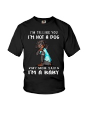 Dachshund I'm Telling You I'm Not A Dog Youth T-Shirt thumbnail