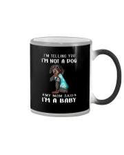 Dachshund I'm Telling You I'm Not A Dog Color Changing Mug thumbnail