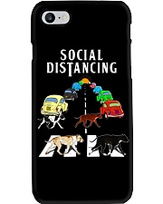 Social Distancing Pitbull Phone Case thumbnail