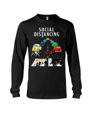Social Distancing Pitbull Long Sleeve Tee thumbnail