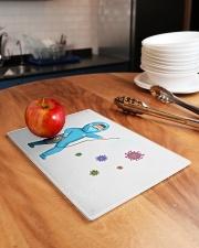corona virus Rectangle Cutting Board aos-cuttingboard-rectangular-lifestyle-01