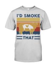 I'd Smoke That Premium Fit Mens Tee thumbnail