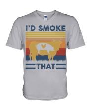 I'd Smoke That V-Neck T-Shirt thumbnail