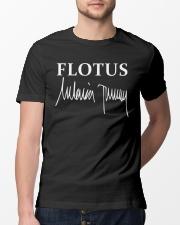 FLOTUS Melania Trump signature Classic T-Shirt lifestyle-mens-crewneck-front-13