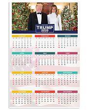 Trump 2020 Calendar 24x36 Poster front