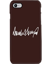 Donald Trump Signature Phone Case thumbnail