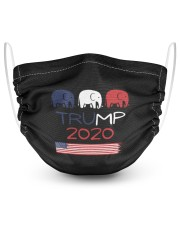 TRUMP 2020 2 Layer Face Mask - Single thumbnail