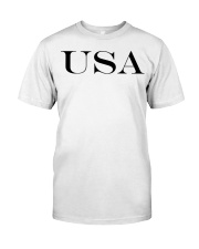 usa Classic T-Shirt front