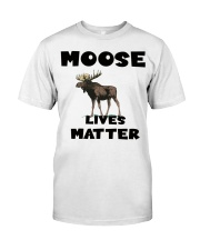 Moose Lives Matter Premium Fit Mens Tee thumbnail