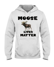 Moose Lives Matter Hooded Sweatshirt tile