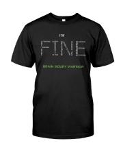 Brain Injury Warrior Shirt Classic T-Shirt front
