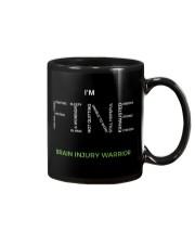 Brain Injury Warrior Shirt Mug thumbnail
