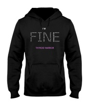 Thyroid Warriors Tee Hooded Sweatshirt thumbnail
