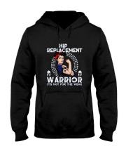 Hip Replacement Warrior Tee Hooded Sweatshirt thumbnail