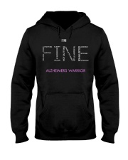 Alzheimer Warriors Tee Hooded Sweatshirt thumbnail